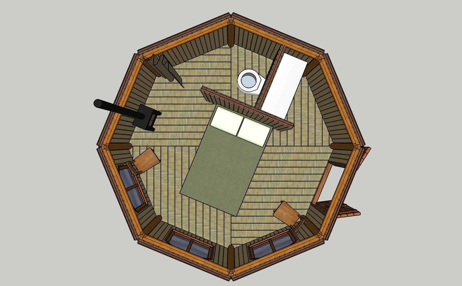Octo-Pod plan